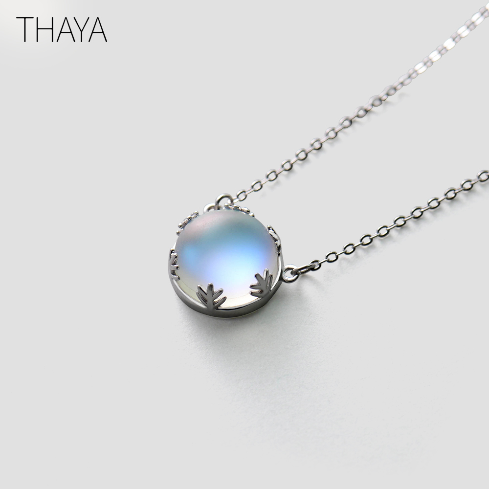 shop with crypto buy 55cm Aurora 925 Silver Necklace pay with bitcoin