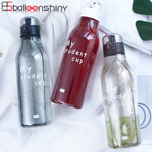 BalleenShiny PP 520ml Water Bottle with Cover Portable Fitness Sports Climb Picnic Juice Drinking Cup Outdoor Kitchenware