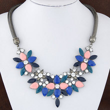 New SBY0172 Fashion chain necklace shining Chokers necklaces Brand Jewelry