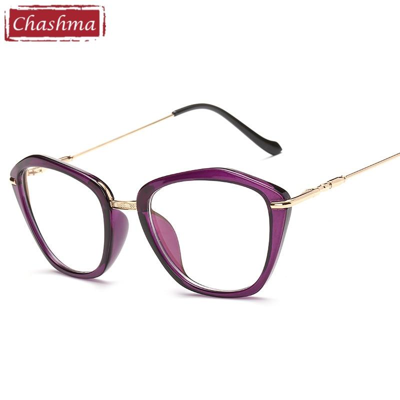 e79c669ccd3e Chashma 2017 Fashion Eyeglasses Cat Eye Glasses Fashion Frames Glasses  Women Optical-in Eyewear Frames from Women's Clothing & Accessories