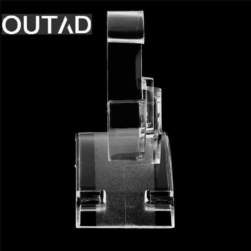 New Clear Acrylic Watch Display Holder Stand Rack Showcase Tool Transparent Wristwatch Lightweight Stand Case