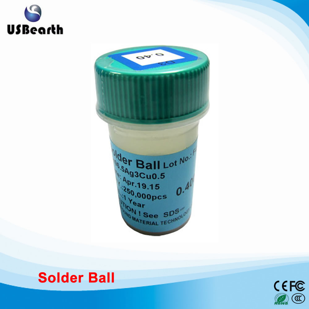 PMTC 250k 0.4mm lead-free solder balls for BGA rework reballing lead free bga solder balls 250k 0 35mm for bga repair bga reballing kit bga solder ball