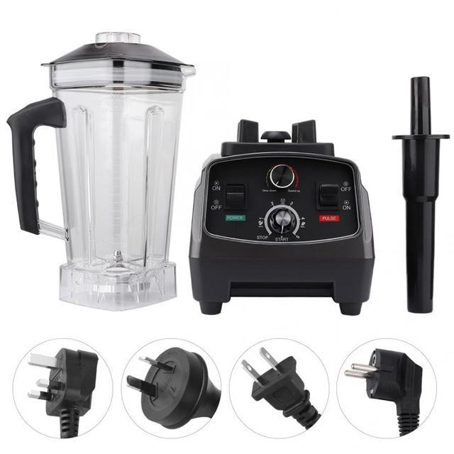 Liquidificador Elétrico Multifuncional Processador de Alimentos Liquidificador Espremedor de Frutas Vegetal batidora de mano electrica