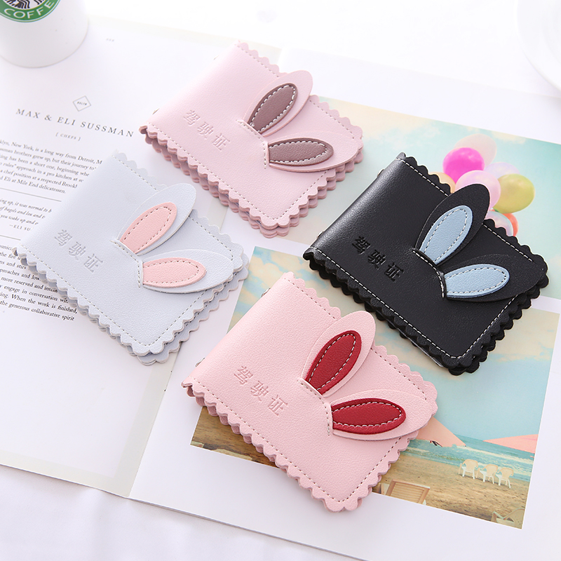 APP BLOG Brand Women Men Driver's License Passport Cover ID Credit Business Card Holder Card Bag Case Male Female For Document image