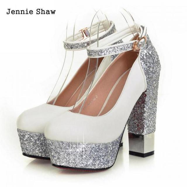 a300882731 Botas de Salto grosso de Ultra Saltos Altos Único Sapatos Lindos Sapatos de  Casamento Sapatos de