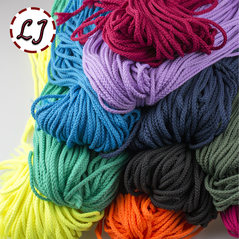 Diy Rope Craft Projects To Do At Home: Wholesale 4mm 30 Color High Strength Handmade Home DIY