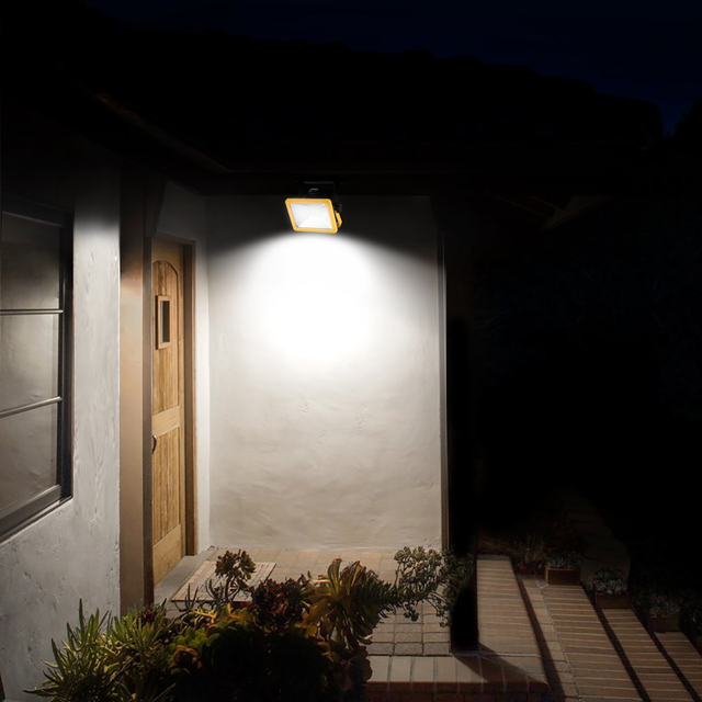 Led Flood Light Outdoor Indoor Spotlight Floodlight 15w Wall Washer Lamp Reflector Ip65 Waterproof Garden With Car Usb Charger