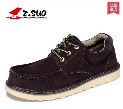 Zsuo 패션 플러스 사이즈 캐주얼 남성 인기 신발, 암소 스웨이드 가죽 패션 남성 신발, zs6156-에서남성용 캐주얼 신발부터 신발 의  그룹 3