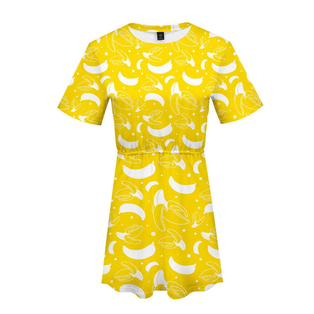 Гордость ЛГБТ Фруктовый Цветочный узор крутое летнее платье удобное круглый воротник секс Harajuku красивое бохо платье плюс размер XXS-4XL