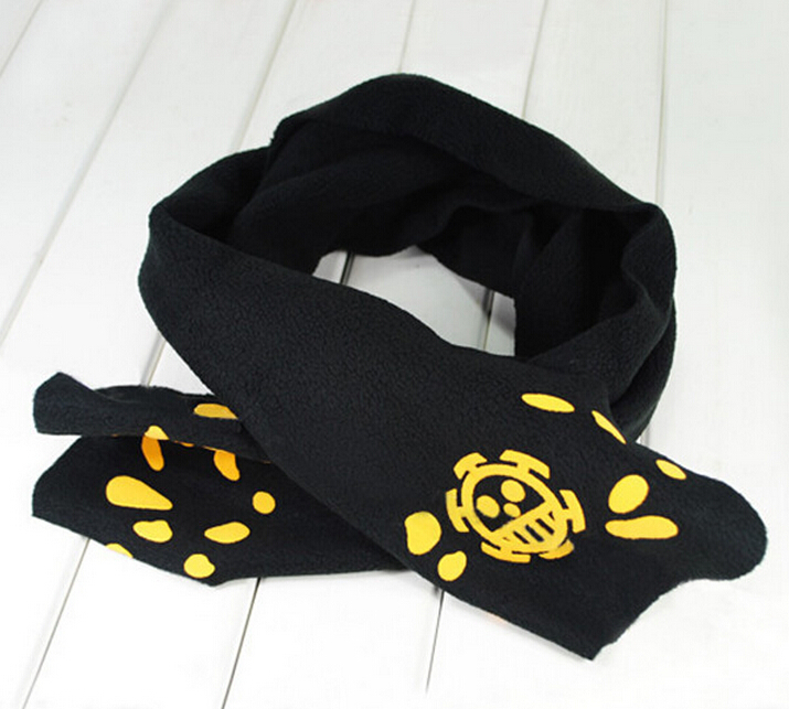 Free shipping OnePiece Scarf COS animation around male and female couple