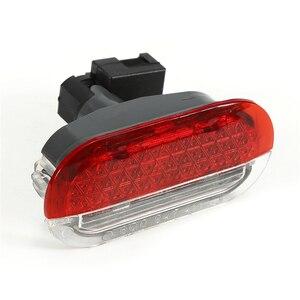 Image 1 - 1 قطعة ضوء باب السيارة السوبر مشرق الأصلي الباب تحذير ضوء ل 1998 2005 VW بيتل جولف جيتا بولو سيارة Led ضوء المصباح