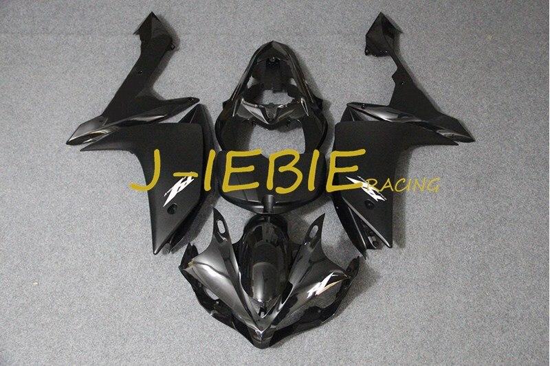 Black white Injection Fairing Body Work Frame Kit for Yamaha YZF 1000 R1 2007 2008