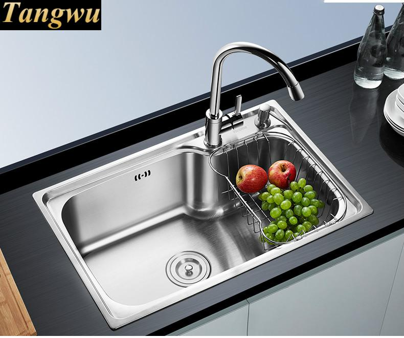 Free Shipping Was Single Vegetable Washing Basin Thickened