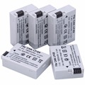 5 Pcs Probty LP E8 LPE8 LPE8 Kamera Batterien AKKU Pack Für Canon 550D 600D 650D 700D X4 X5 X6i X7i t2i T3i T4i T5i DSLR Kamera|Digitale Batterien|Verbraucherelektronik -
