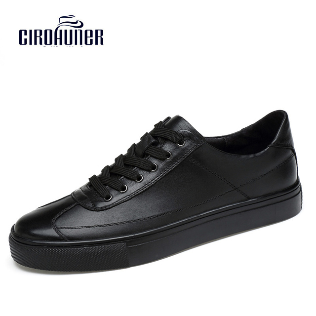 Men Leather Dress Loafers Casual Flat Sneakers Outdoor Shoes HWJ-9959
