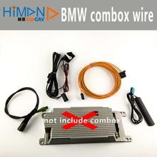 FOR BMW COMBOX CIC E90 E60 E84 E70 6NR retrofit wiring kit Apps internet bluetooth