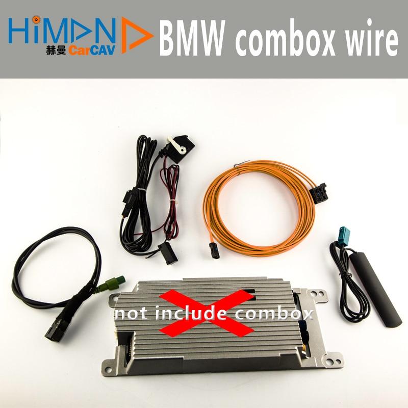 Untuk BMW Combox CIC E90 E60 E84 E70 6NR Retrofit Peralatan Listrik Aplikasi Internet Bluetooth