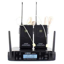 GLXD4 600-650 МГц регулировка частоты UHF беспроводной микрофон профессиональный одиночный наушник гарнитура микрофон для KTV пение караоке система