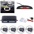 1Set Car LED Parking Sensor Kit Display 4 Sensors for all cars Reverse Assistance Backup Radar Monitor System