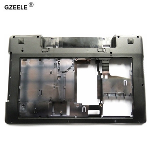 GZEELE new bottom case Cover For Lenovo Z580 Laptop Series bottom case Z585 Base Bottom D SHELL(China)