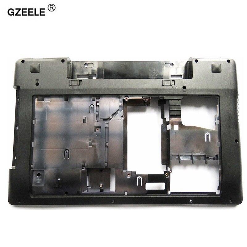 Новый нижний чехол GZEELE для Lenovo Z580, нижний чехол для ноутбука серии Z585, базовый низ