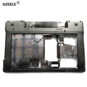 GZEELE new bottom case Cover For Lenovo Z580 Laptop Series bottom case Z585 Base Bottom(China)