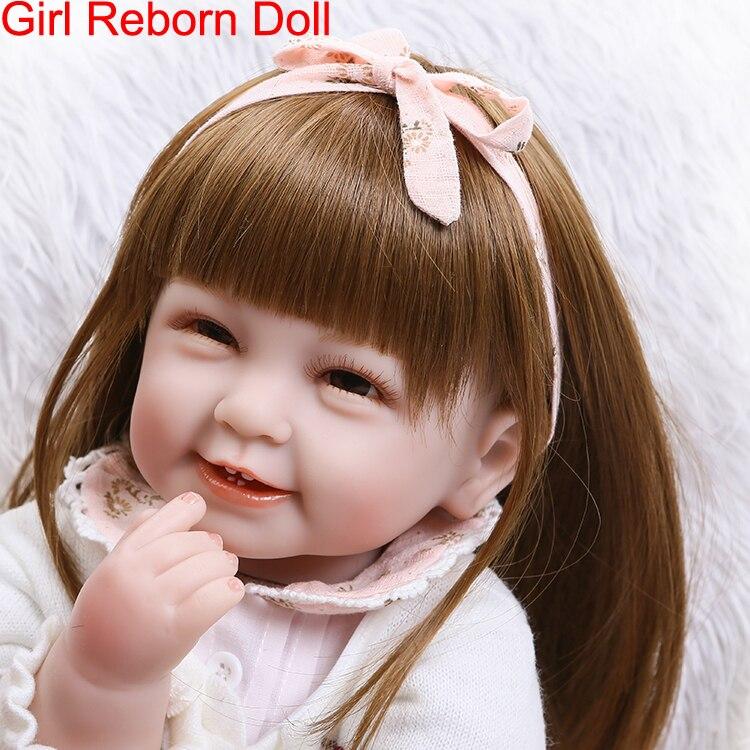 DollMai bebes reborn menina lifelike princess girl silicone reborn baby dolls toys 22inch 55cm babies newborn toddler dolls giftDollMai bebes reborn menina lifelike princess girl silicone reborn baby dolls toys 22inch 55cm babies newborn toddler dolls gift