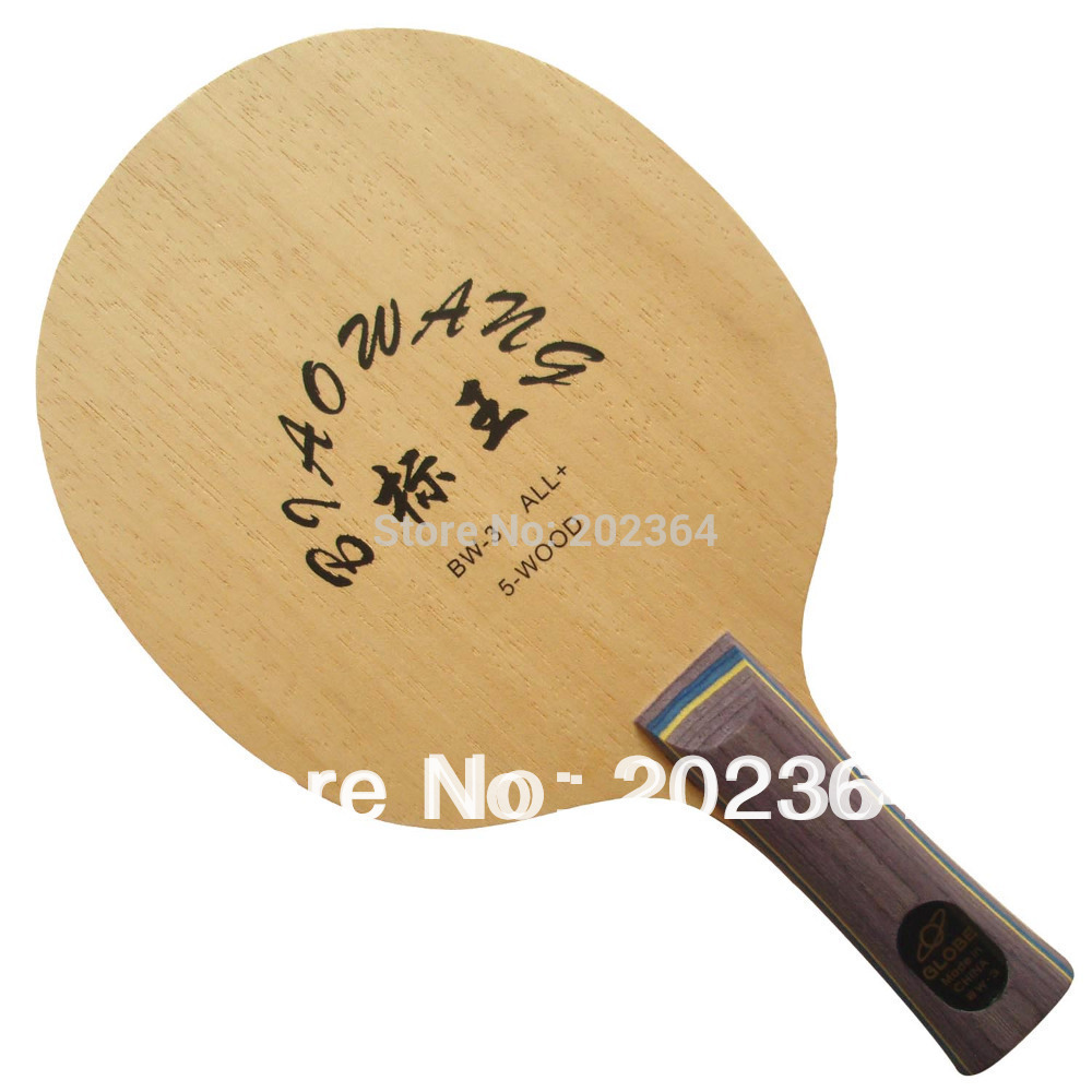 Globe BIAOWANG BW-3 (BW 3, BW3) 5-Wood, All+ Shakehand Table Tennis Blade for PingPong Racket bw 5 кривой рог