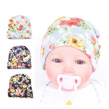 Print Knitting Newborn Girl Boy Toddler Hats Cotton Cap casquette tocas e gorros gorros mujer invierno New