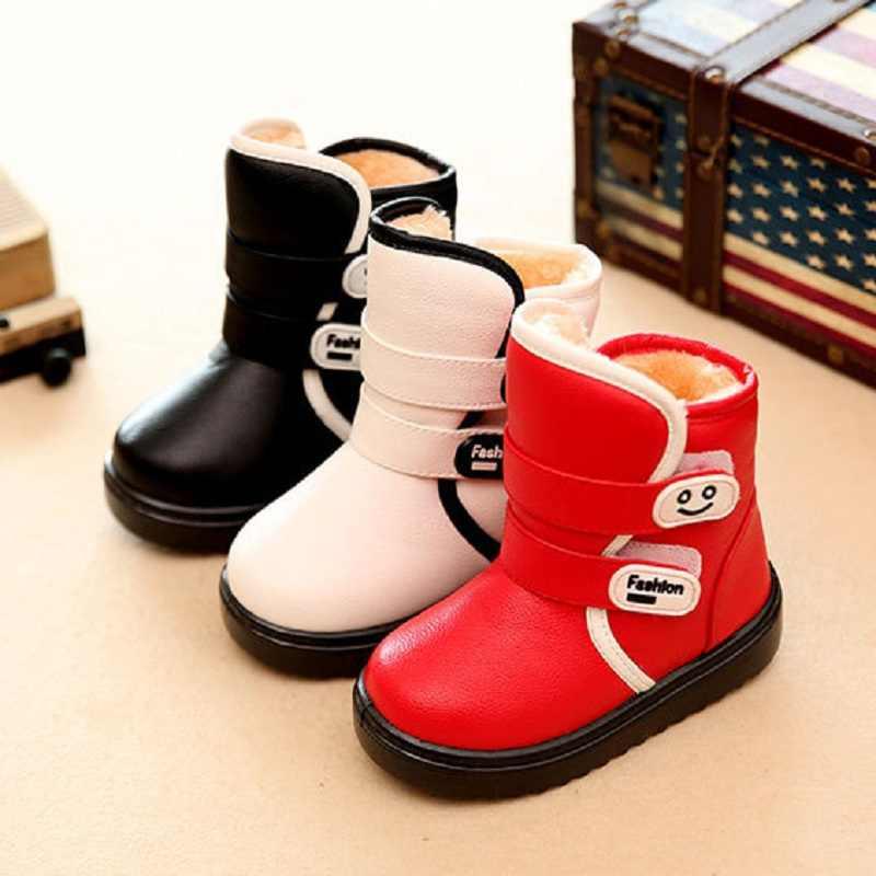 e93882db7 Новая зимняя детская обувь для девочек зимние сапоги для девочек зимние  ботинки теплая обувь slipproof Водонепроницаемый