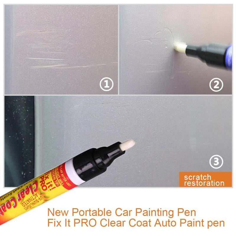 1X Auto Car Painting Tools Touch Up Scratch Cover Remove Repair Fix It Clear Pen