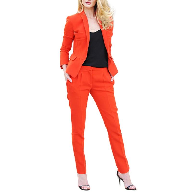 color Femmes Chart Pièce Vêtements Bu Ladiespant Pour Ccolor Color Set Élégant Formelle Pantalon 2 Nouveau Blazer Chart D'affaires Picture Un as satin Avec De Travail Costumes 4W5wS