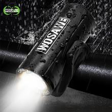 WOSAWE Head Bicycle Lights 2x XPE LED Lamp Beads Flashlight With 4 Modes Torch USB Cycling Rechargeable Bike Accessories