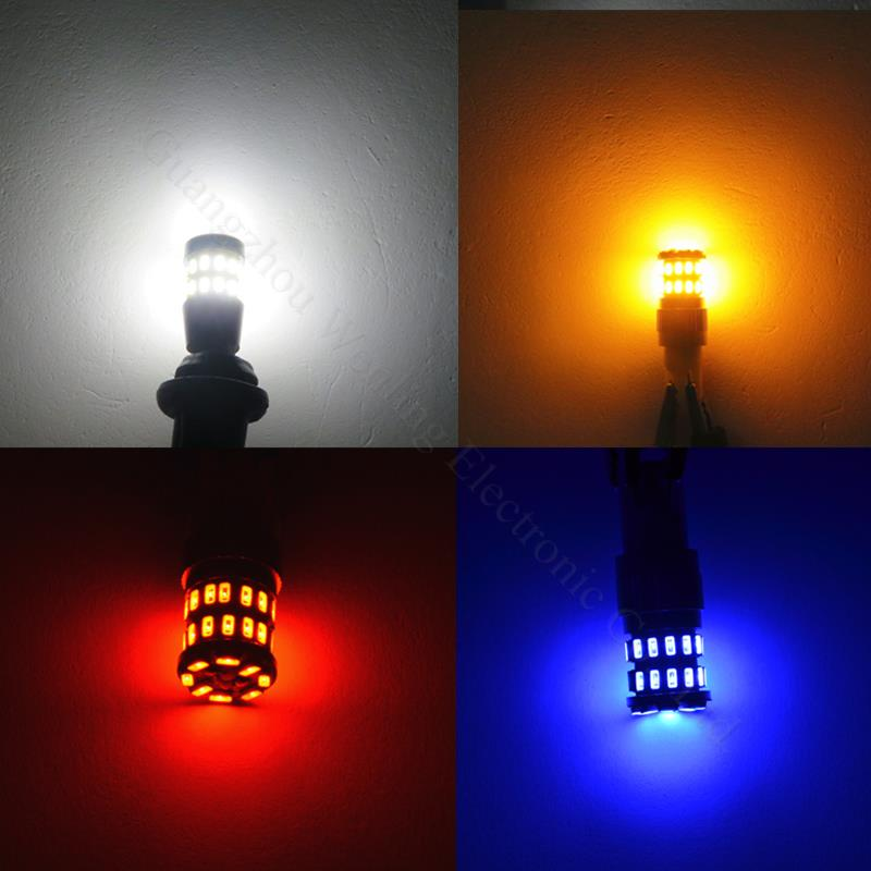 WLJH 4x 5W Canbus W5W LED T10 Light 3014 SMD 12V LED LED Car Car - Dritat e makinave - Foto 4