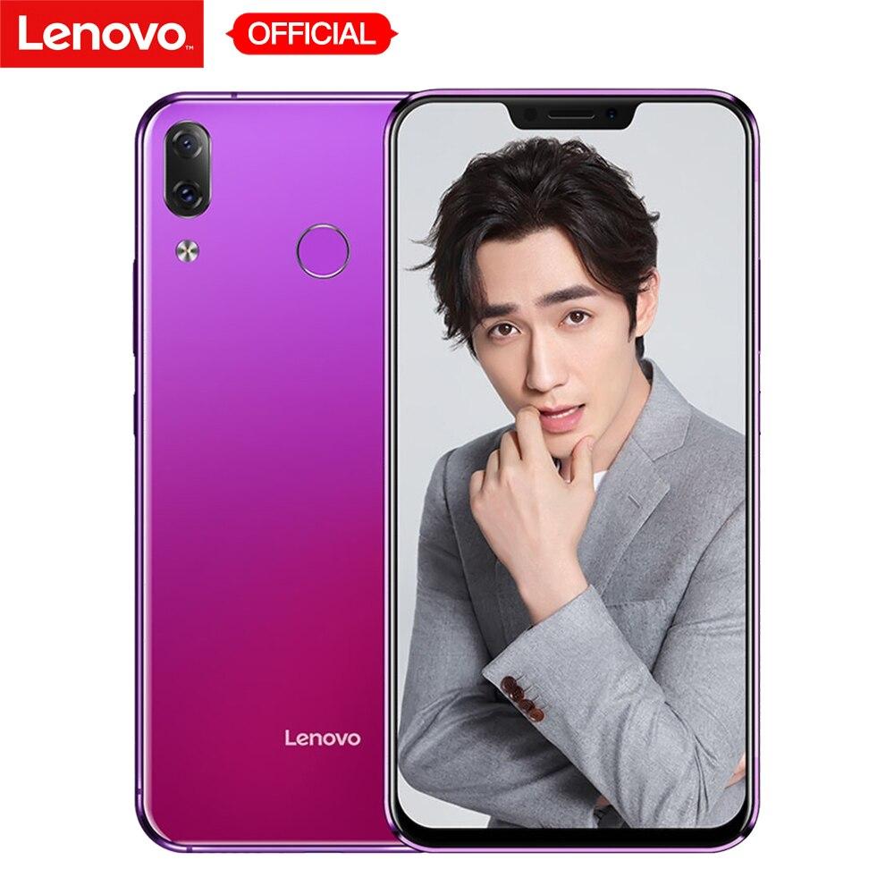 Lenovo Z5 6 GB 64 GB Snapdragon 636 Octa base téléphone portable 19:9 Plein Écran 6.2 ''Android 8.1 16MP + 8MP Double caméra arrière Smartphone