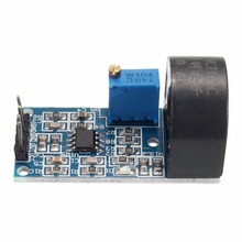 1PCS 5A Monophase AC Precision Miniature Current Transformer PCB Module for Arduino