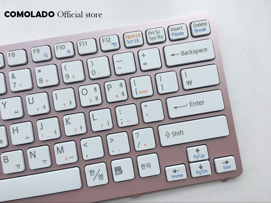KR Korean Keyboard For Sony Vaio VPC-CW VPC CW VPCCW CW16EC CW18FC pink Frame Laptop Keyboard KR Layout