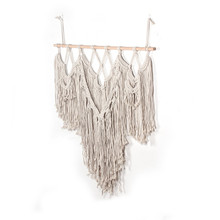 New decorative tapestry cotton line Nordic wedding decoration wall bohemian woven