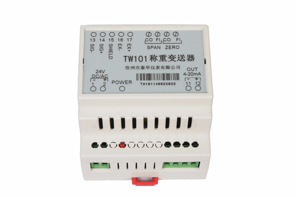 TW1 Weighing Transmitter / Bridge MV Signal Isolator / Weighing Sensor Amplifier / Weighing Isolator