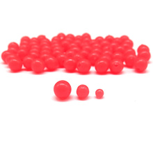 200 pcs Luminous Fishing Floats Soft Olva/Round Fishing Beads Fishing Accessories Fishing Line Stopper