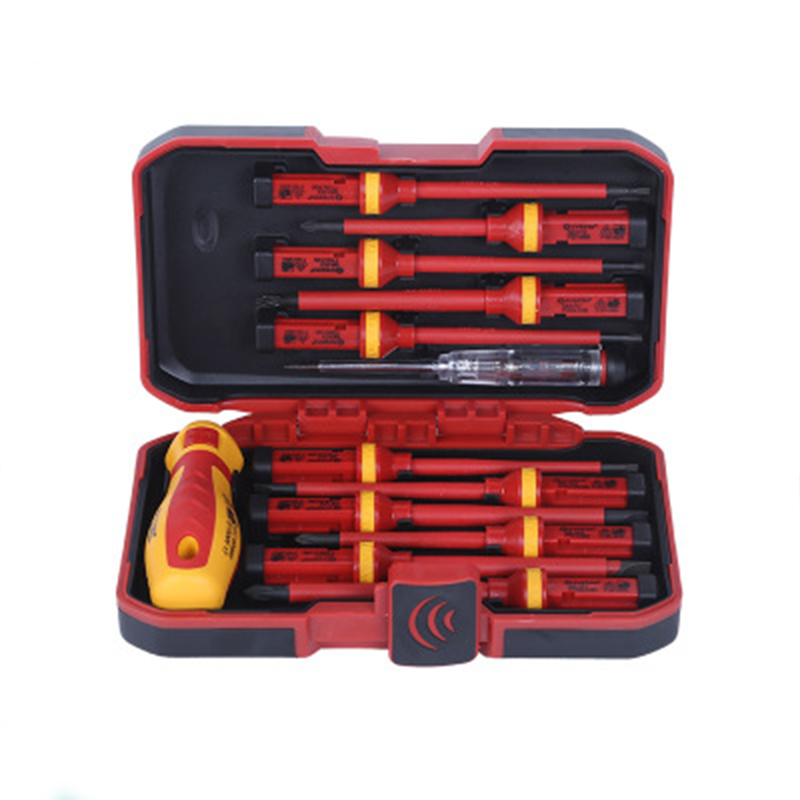 13pcs Screwdrivers Set Insulated Electrical Screwdriver Kit Multi-purposes for 1000V Power Electrician Hand Tool цена
