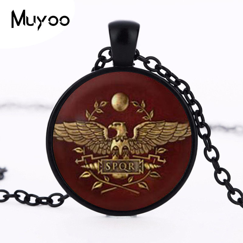 Game Gamer Total War Rome Necklace pendant chain Jewelry women men gift vintage antique charm vintage 2017 doctor who HZ1 image