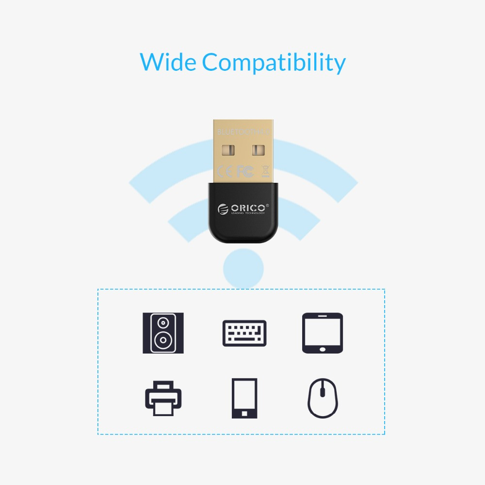 Image 4 - ORICO BTA Wireless USB Bluetooth Adapter 4.0 Bluetooth Dongle Music Sound Receiver Adapter Bluetooth Transmitter for Computer-in USB Bluetooth Adapters/Dongles from Computer & Office