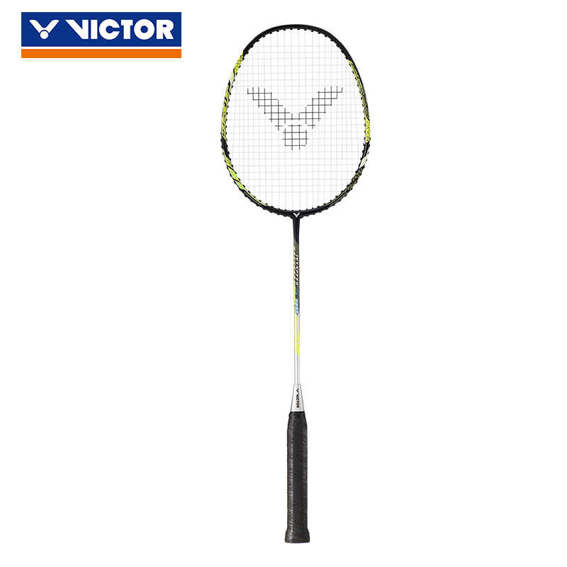 100% Genuine Victor JETSPEED S Carbon Badminton Racket Raquette Badminton With Strung and Gift