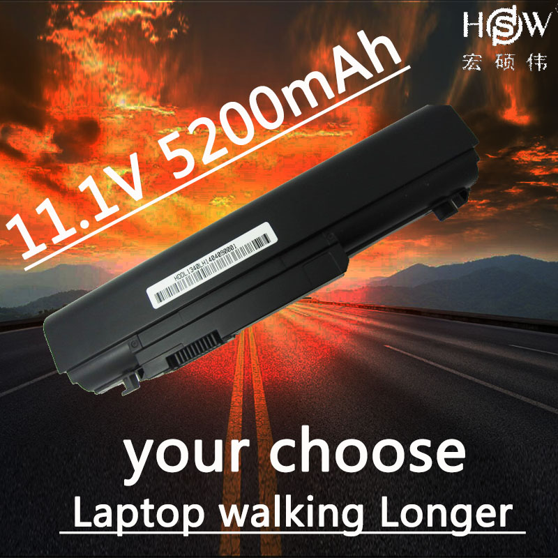 HSW 5200MAH NEW 6cell laptop battery for DELL  312-0773,312-0774,P866C,P866X,P891C,PP17S,R437C,T555C,T561C,W004C,XPS 13,1340