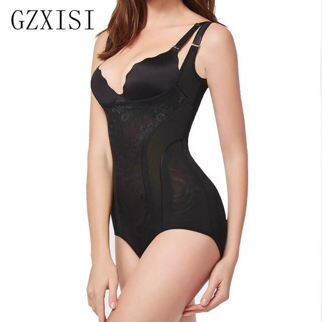 9f6994a6d836d Women s Shapewear Bodysuit Lady Nude Black Slip Body Shaper Firm Tummy  Control Underbust Shapewear Bodysuit WomenM