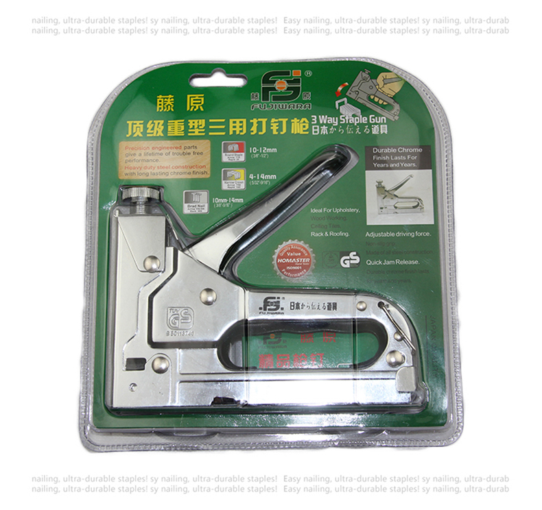 FUJIWARA Capsator de unghii Manual pistol de unghii Pistolet de - Scule electrice - Fotografie 5