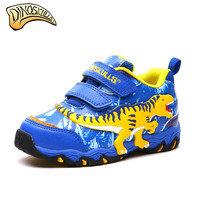 Children's Shoes Boys' 3D Dinosaur Led Light Shoes 2019 New Children's Boys Sports Shoes Kids Designer Casual Sneakers 27 34#
