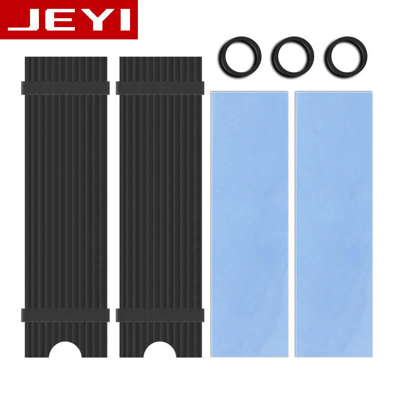 JEYI N92 Heat sink NVME NGFF M.2 Heatsink dissipation aluminum sheet Thermal conductivity silicon wafer cooler 2280ssd heatsink heat sink dissipation aluminum cooling for sm961 960pro m 2 ngff nvme 2280 ssd