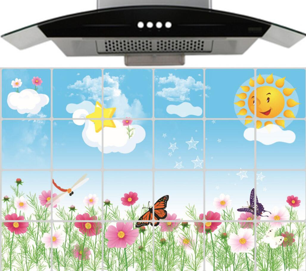 Aliexpress.com : Buy Kitchen Scenery Wall Sticker Waterproof/Oil ...